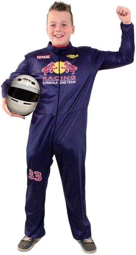 Formule 1 overall kostuum voor kinderen - F1 racecoureur pak 152 (12 jaar)