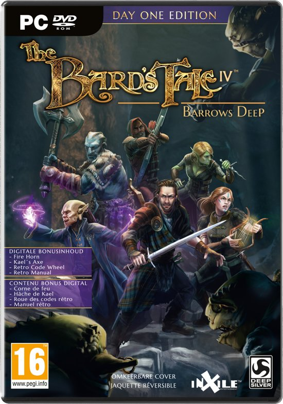 The Bard's Tale IV: Barrows Deep - Day One Edition - PC