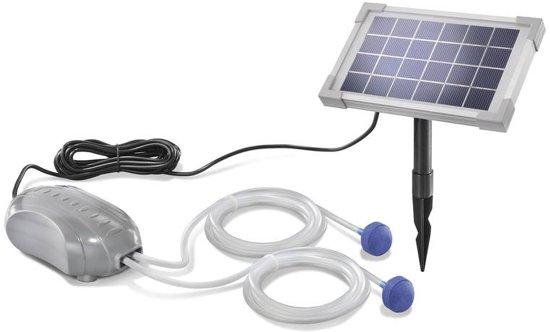 Solar Bollen Vijver.Esotec Solar Vijver Beluchters Duo Air
