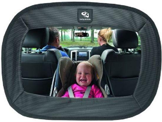 Spiegel Baby Auto.A3 Baby Kids Extra Grote Autospiegel Zwart