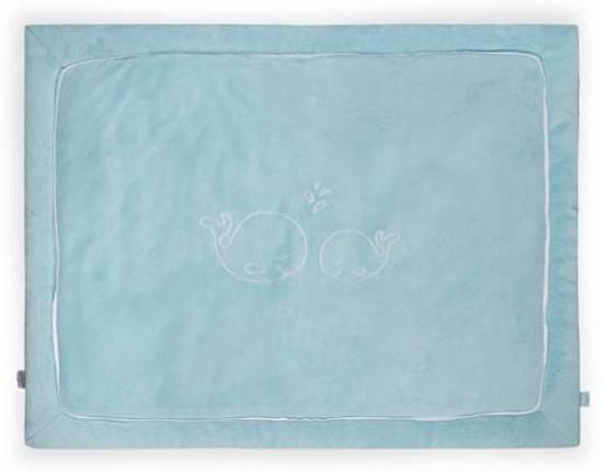 Jollein Comfy Fleece - Boxkleed 80x100 cm - Turquoise