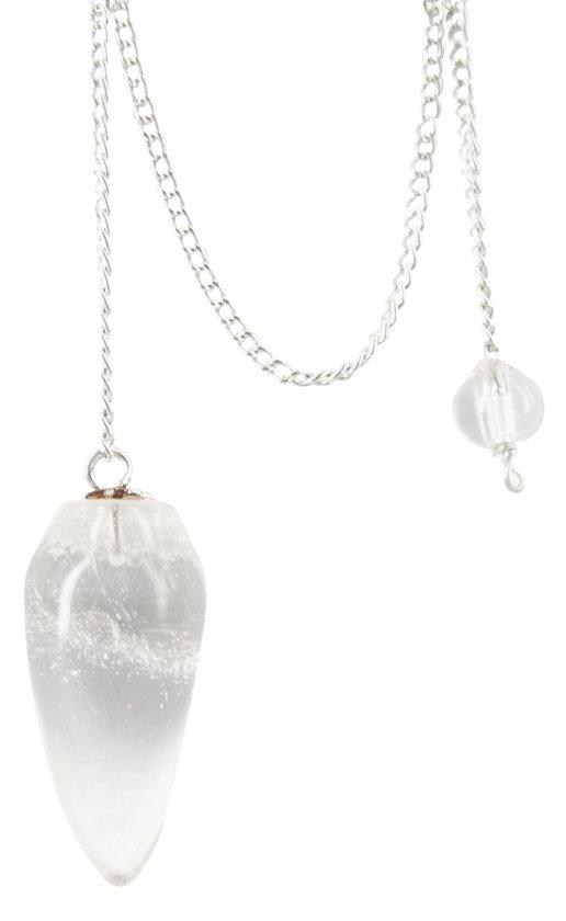 Pendel druppel Bergkristal