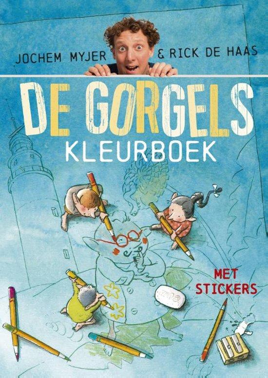 Boek cover De Gorgels - Gorgels Kleurboek van Jochem Myjer (Paperback)