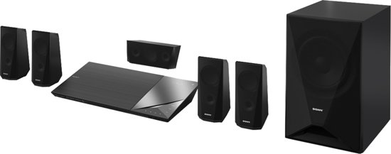 Sony BDV-N5200W - 5.1 Home cinema set - Zwart