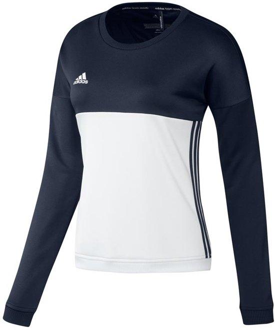 DamesSweaters Adidas Donker Crew Blauw Xs T16 'offcourt' Sweater ul35KTF1Jc