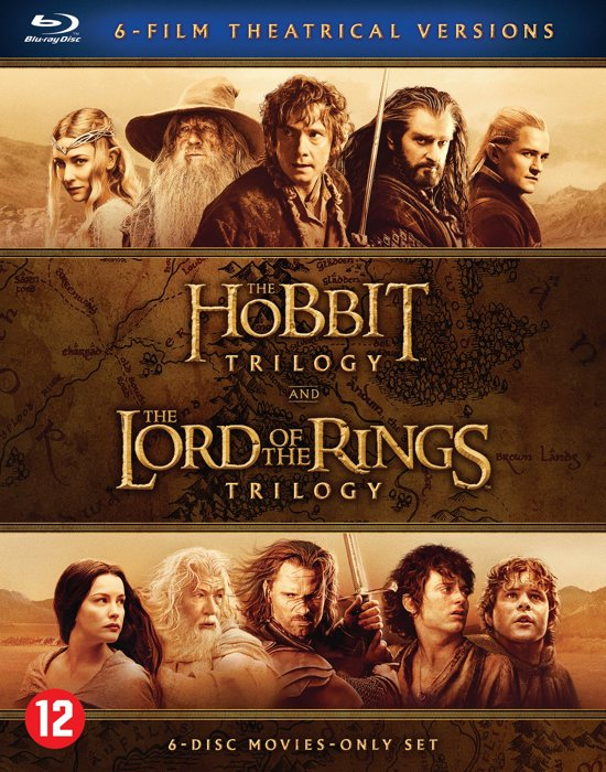 Hobbit Trilogie Blu Ray