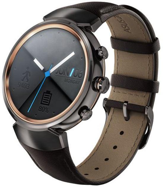 Asus Zenwatch 3 Smartwatch - Donkerbruin