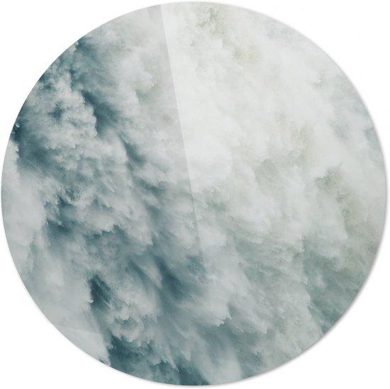 Waterval  | Wanddecoratie | 100CM x 100CM | Schilderij | Foto op plexiglas | natuur | Landschappen