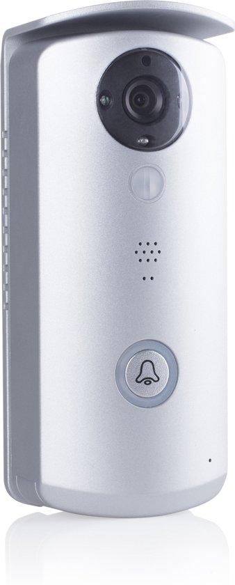 Bolcom Smartwares Vd40w Wifi Deurbel Met Camera Grijs