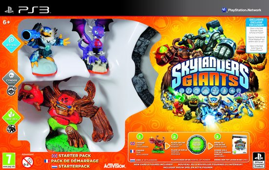 Skylanders Giants: Starter Pack - Glow in The Dark Edition - PS3