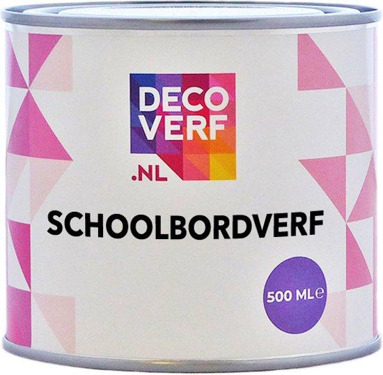 Decoverf schoolbordverf bruin, 500ml