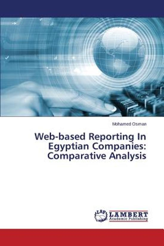 Web-Based Reporting in Egyptian Companies