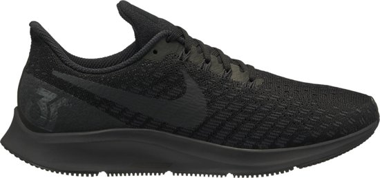 Nike Air Zoom Pegasus 35 Hardloopschoenen Dames - Black/Oil Grey-White