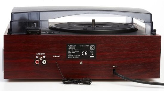 Camry CR 1113 - Retro draaitafel met radio