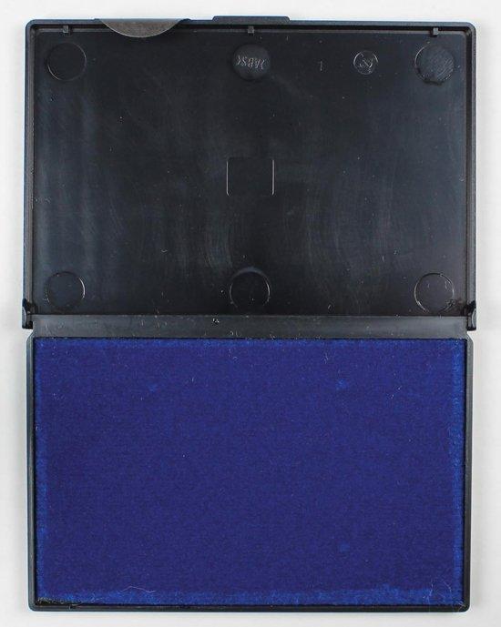 29x 5 Star stempelkussen blauw