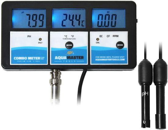 PH/EC CF/PPM en TEMP Combo meter. AquaMaster Tools P700Pro