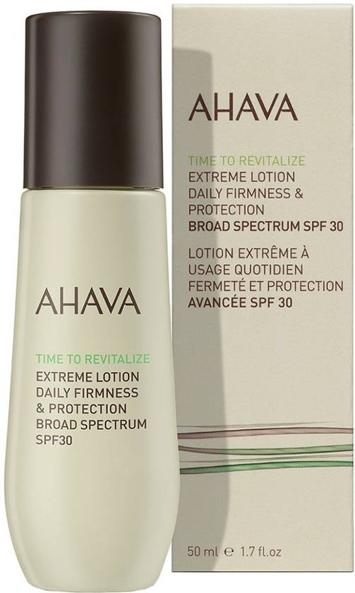 AHAVA Extreme Lotion daily firmness & Protection SPF30