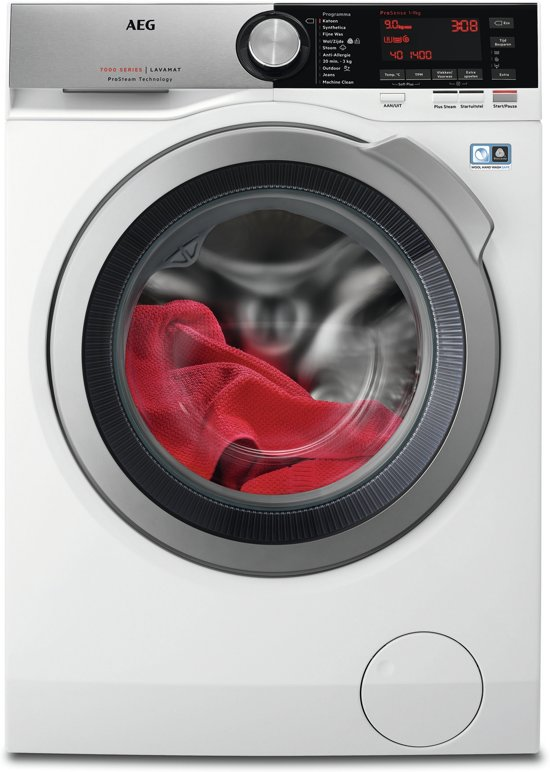 AEG L7FE96CS - Wasmachine