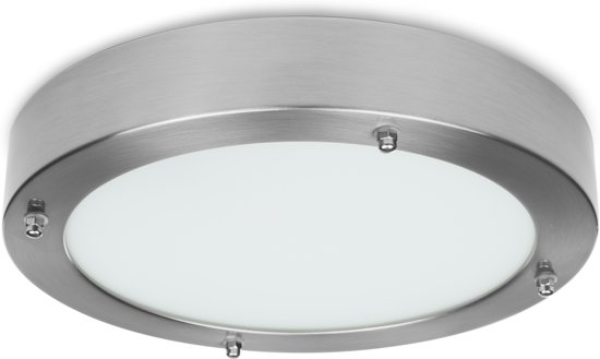 Stijlvolle Plafonniere Badkamer : Bol.com smartwares iwl 60004 led plafondlamp badkamer geborsteld