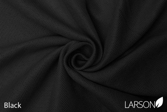 Larson Luxe Hotel Serie Blackout Gordijn Visgraat Motief Haken