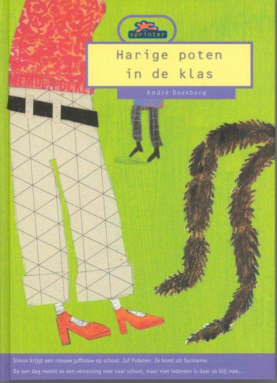 Cover van het boek 'Harige poten in de klas' van André Boesberg