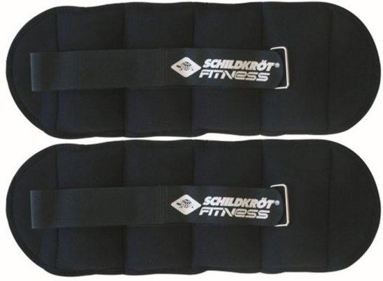 Schildkröt Fitness Enkel - en polsgewichten  - 2 x 2 kg - Nylon - Zwart