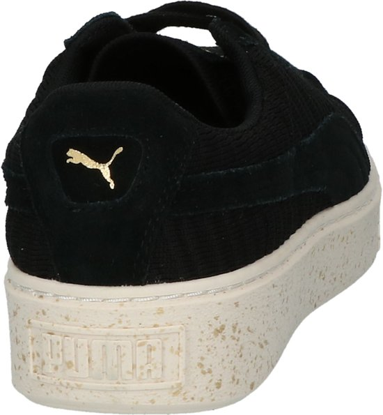 Dames Laag 39 Sneaker puma Zwart;zwarte 01 Puma Maat Black puma Black Sportief 364090 White whisper IEqpwwAB