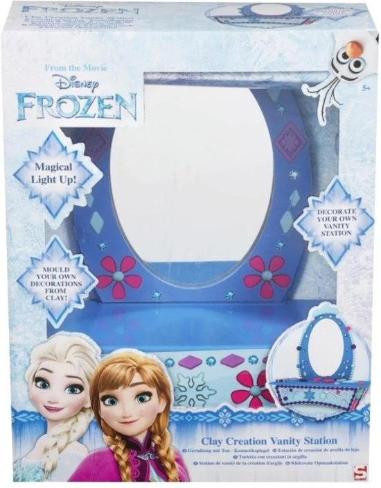 Disney Frozen Klei Kaptafel Met Spiegel 35x28x12cm Kleien Voor
