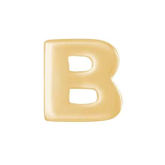More Initials Hanger - Letter B - Goudkleurig