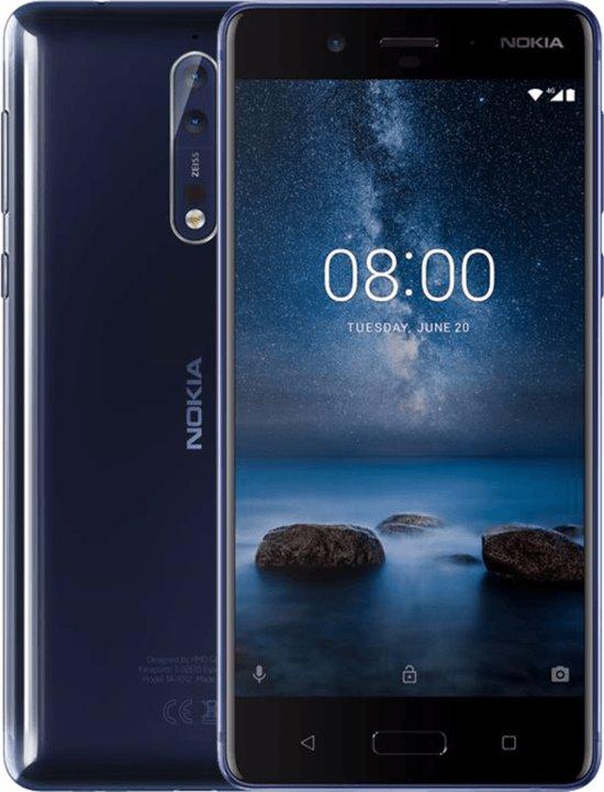 Nokia 8 - 64GB - Glossy Blauw