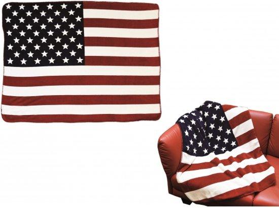 Deken Amerikaanse Vlag.Bol Com Fleece Deken Amerikaanse Vlag