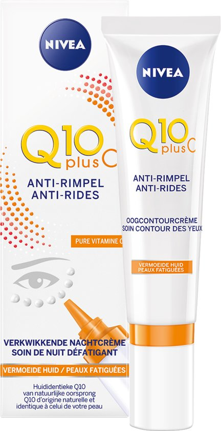 NIVEA Q10plusC Anti-Rimpel +Energy Oogcontourcrème