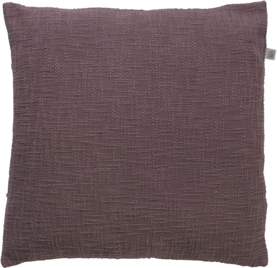 Dutch Decor Kussenhoes Sara 45x45 cm aubergine