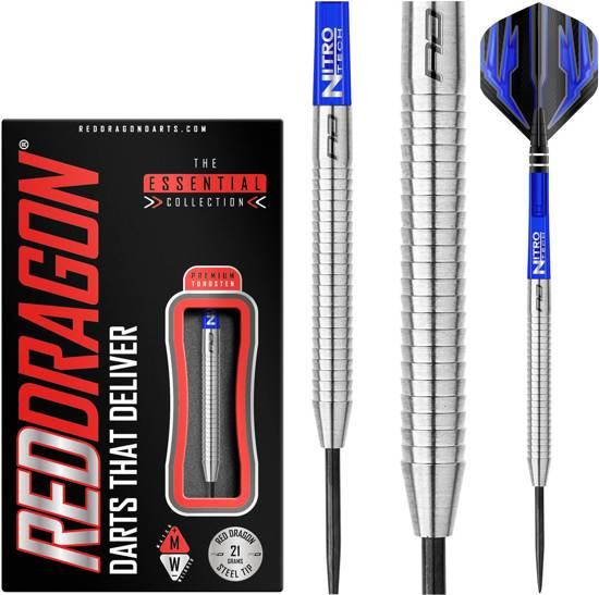 RED DRAGON - Razor Edge Original: Steeltip Tungsten Dartpijlen Professioneel - 21 gram