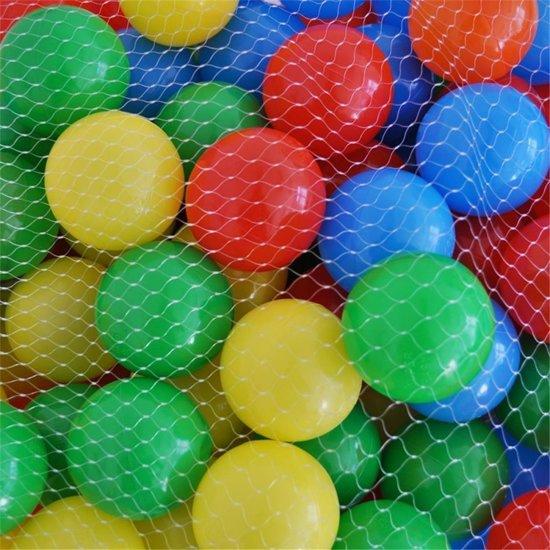 Ballenbakballen, Ballenbak, gekleurde ballen, 1000 stuks