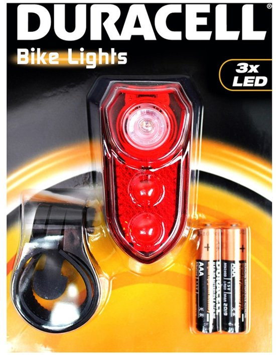 Duracell Achterlicht/ Achterlamp (fiets)