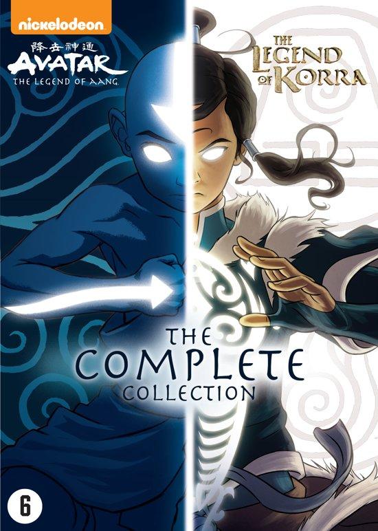 DVD cover van Avatar: Legende van Aang & Legende van Korra - Complete Boxset (Exclusief bij bol.com)