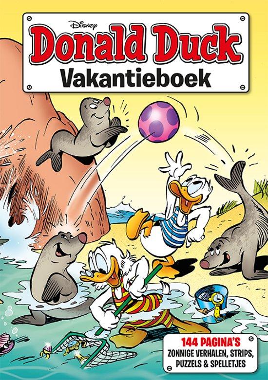 Boekomslag voor Donald Duck Vakantieboek 2019