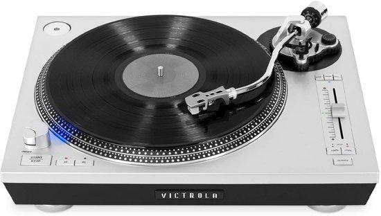 Victrola Pro Series VPRO-2000 Retro Platenspeler Bluetooth USB Zilver