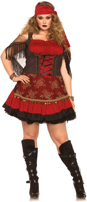 """""""Zigeuner kostuum grote maat voor vrouwen - Verkleedkleding - XXL"""""""