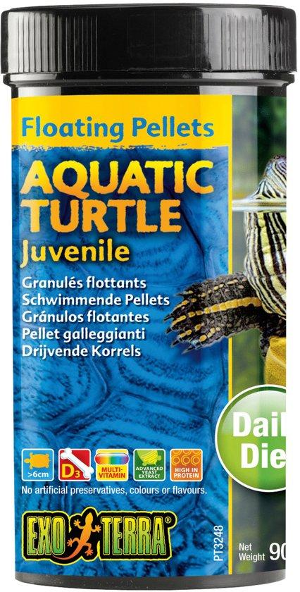 Drijvende Pellets Opgroeiende Waterschildpad 90 gram