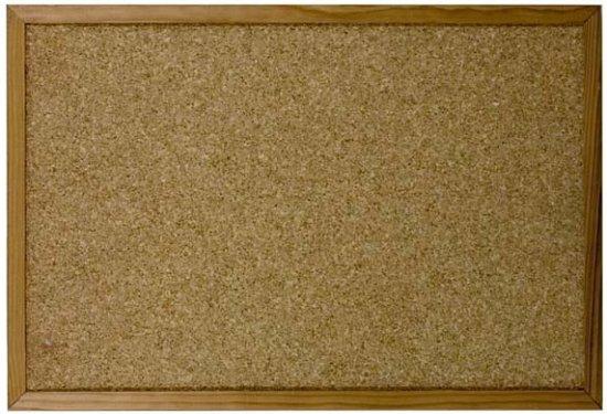 Beste bol.com | Prikbord van kurk 80 x 120 cm YC-34