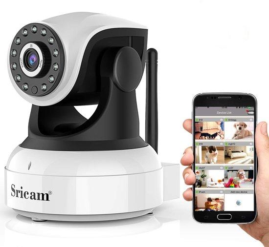 IP-camera met bewegingsdetectie - babyfoon - wifi beveiligingscamera  + app