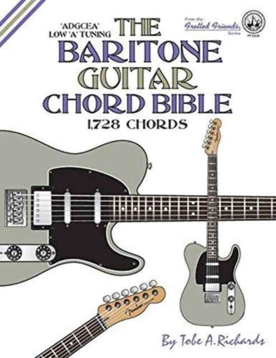 bol.com | the Baritone Guitar Chord Bible: Low a Tuning 1,728 Chords ...