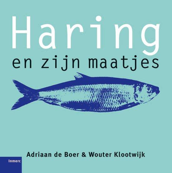 Cover van het boek 'Haring en zijn maatjes' van Wouter Klootwijk en Ada de Boer