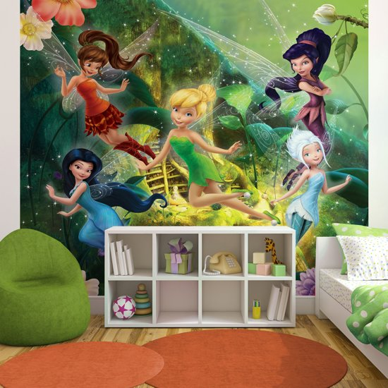 Disney Elfjes - Fotobehang - Tinkerbell - 276x254 cm