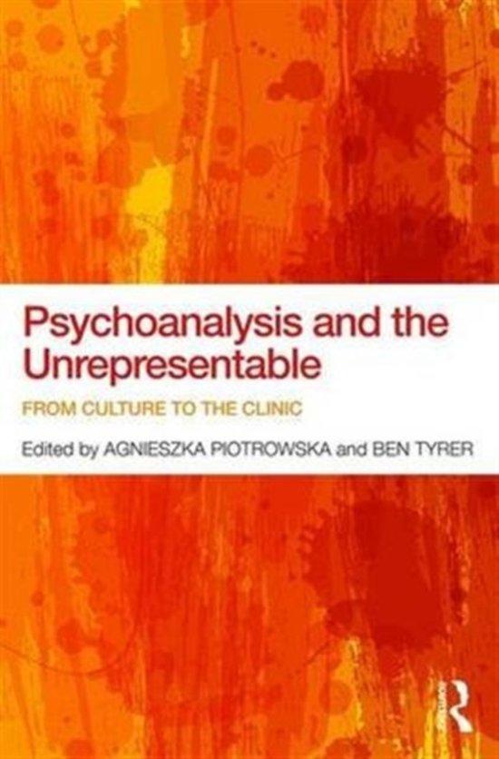 Psychoanalysis and the Unrepresentable