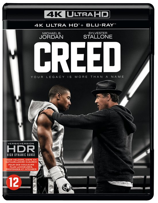 DVD cover van Creed (4K Ultra HD Blu-ray)