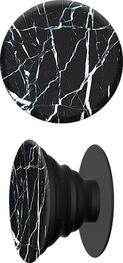 Telefoonhouder met ophangclip zwart marmer bekend als popsockets - Type marmer met foto ...