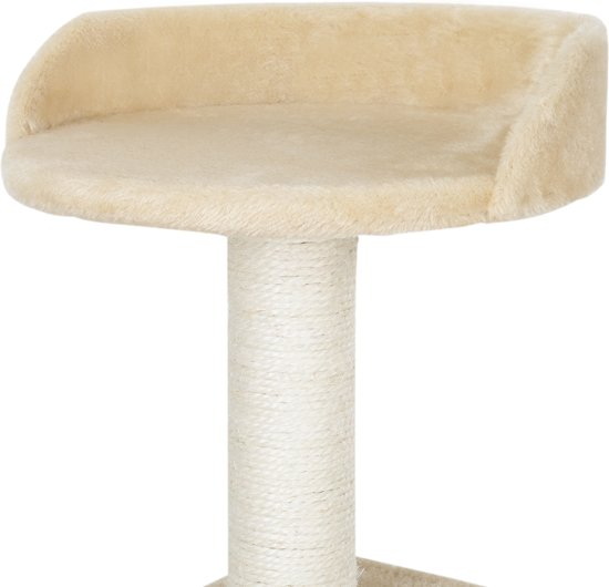 [en.casa]® Krabpaal - krabmeubels - krabspeelgoed - Crème